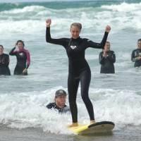 Campamentos de la Escuela Cántabra de surf Quicksilver & Roxy