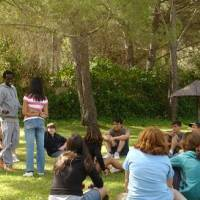 Campamento internacional en Orense