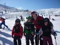 Esquí en Astún familias Semana Santa