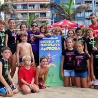 Campus de tenis playa de ApPROBA en Las Canteras