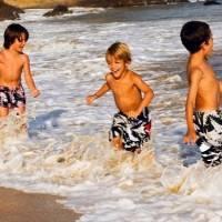 Campamento internacional de inglés y surf Deporcantabria en Celorio