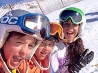 Cursos de esquí en Valdesquí