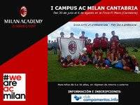 Campus de fútbol AC Milan Cantabria