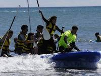Viaje fin de curso náutico a la playa de Oliva