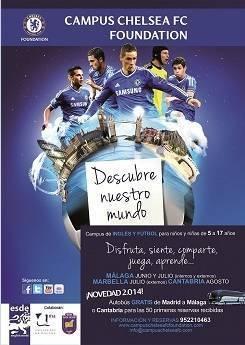 Campus de fútbol e inglés de Chelsea FC Foundation
