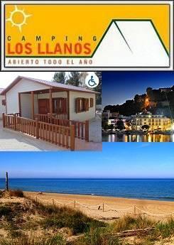 Camping Los Llanos, alojamiento y actividades en Denia