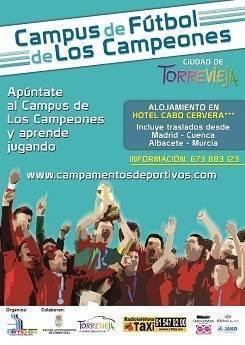 Escuela de Tecnificación Olímpico, Campus de los Campeones en Torrevieja