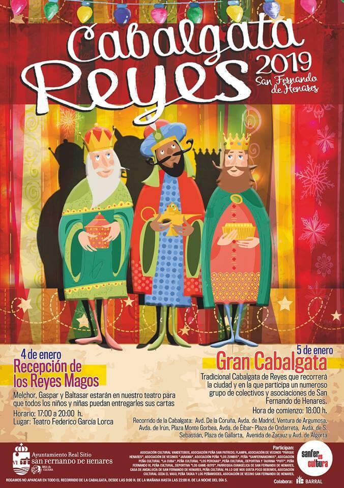Cabalgata reyes magos San Fernando de Henares 2019