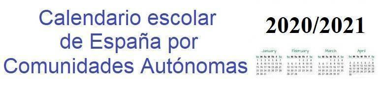 Calendario Agosto 2020 Espana.Calendario Escolar 2019 2020 De Espana Por Comunidades