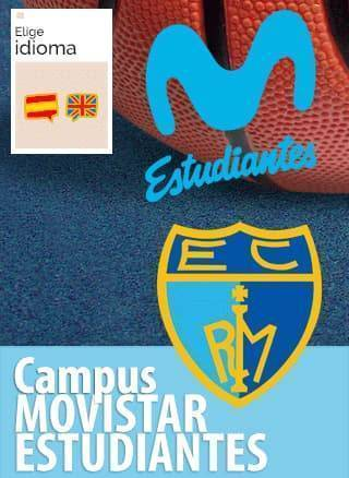 Campamento de baloncesto de Movistar Estudiantes