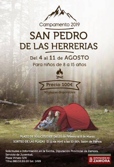 campamento san pedro de las herrerias 2019 diputacion de zamora