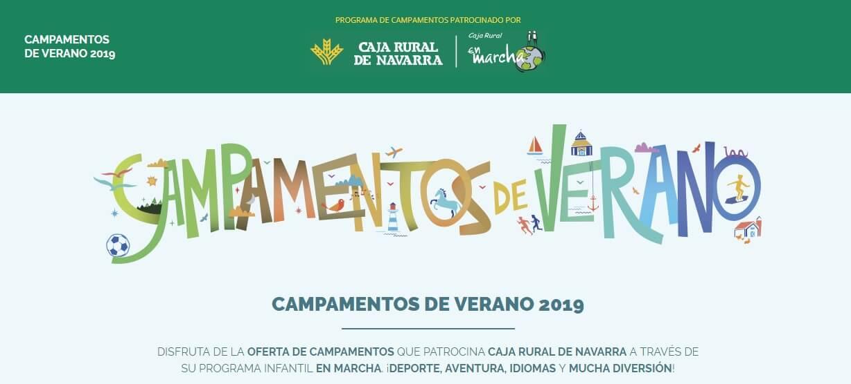 campamentos caja rural de navarra 2019
