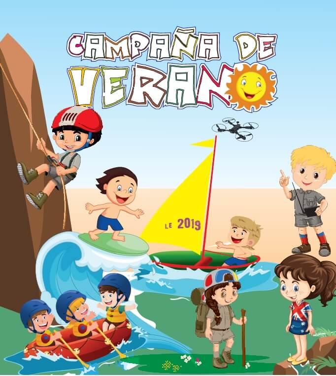 campamentos campaña de verano 2019 de la diputacion de leon