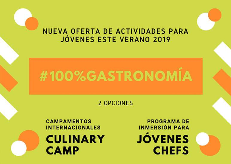 campamentos gastronomicos 2019 de basque culinary center