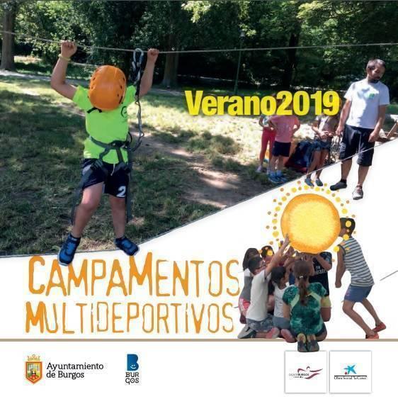 campamentos multideportivos del ayuntamiento de burgos verano 2019