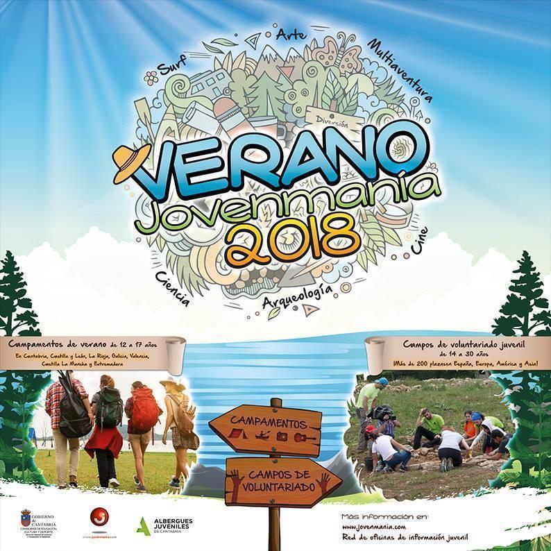 Campamentos Verano 2018 Jovenmania Del Gobierno De Cantabria