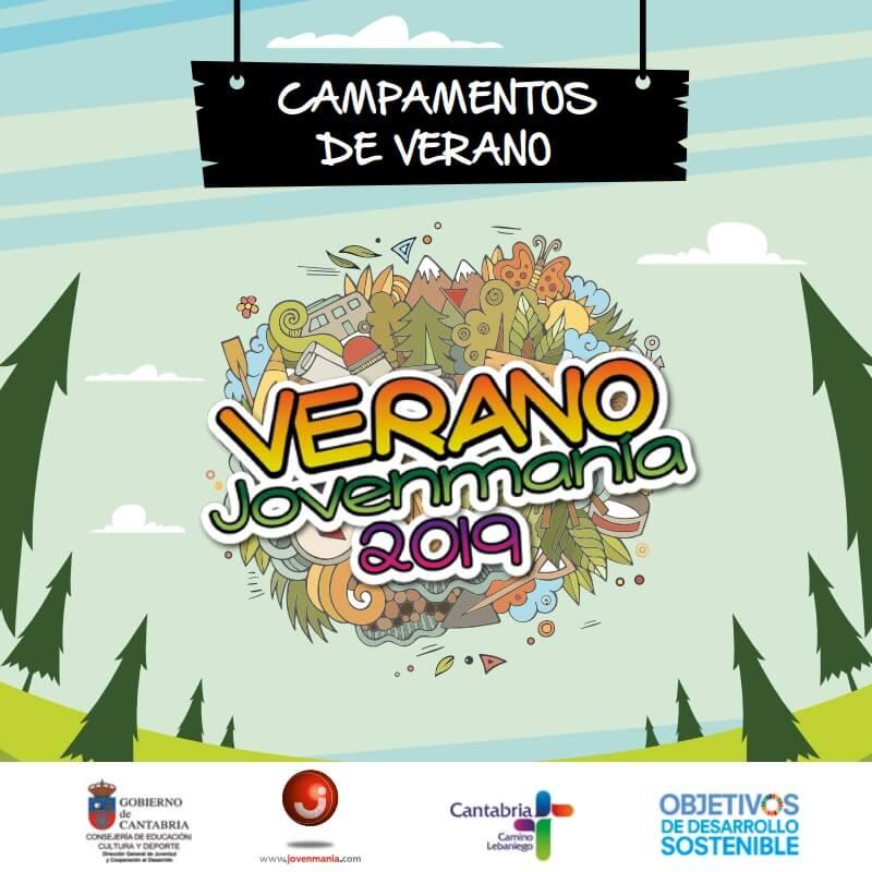 campamentos verano 2019 jovenmania del gobierno de cantabria