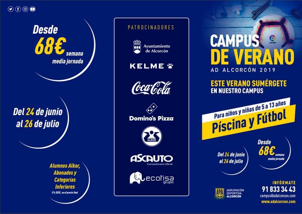 campus futbol verano 2019 ad alcorcon
