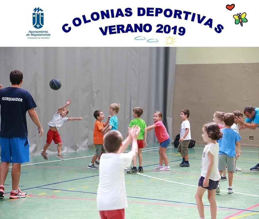 colonias deportivas del ayuntamiento de majadahonda en verano 2019
