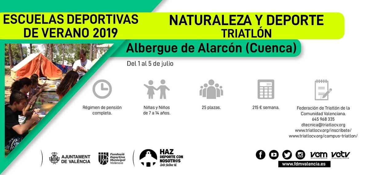 escuela deportiva 2019 triatlon