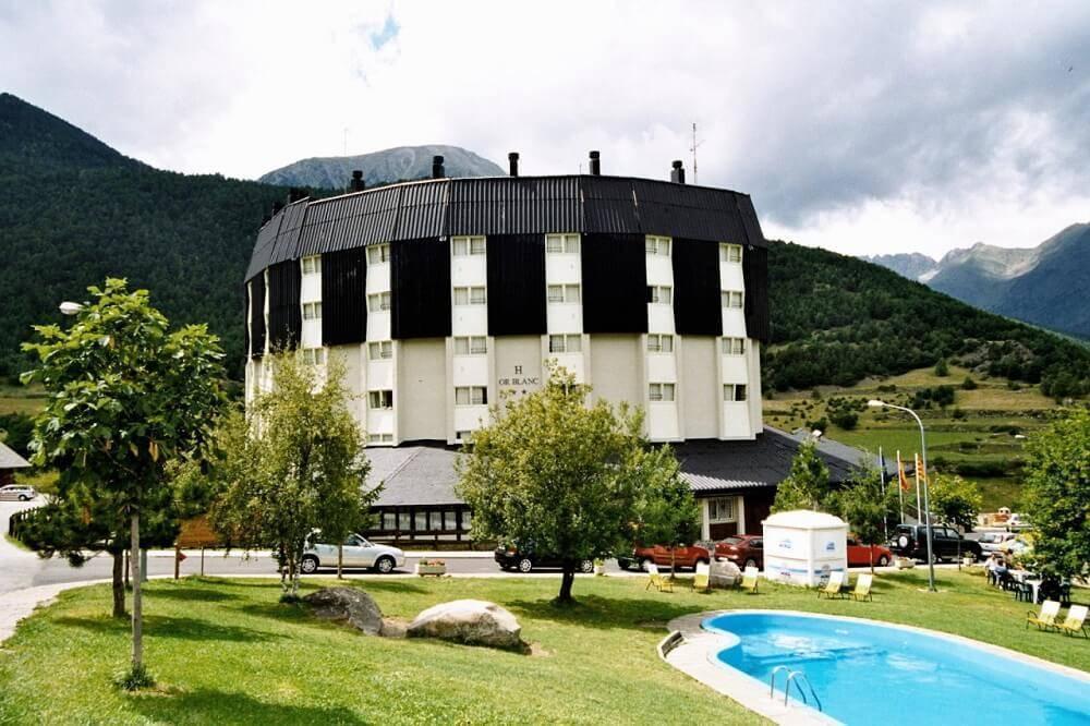 hotel or blanc lleida