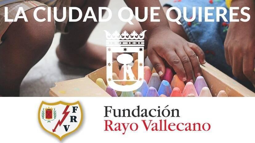 Ayuntamiento de Madrid y Fundación Rayo Vallecano