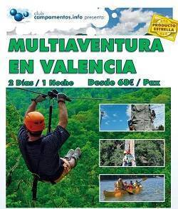 multiaventura en el embalse de benageber