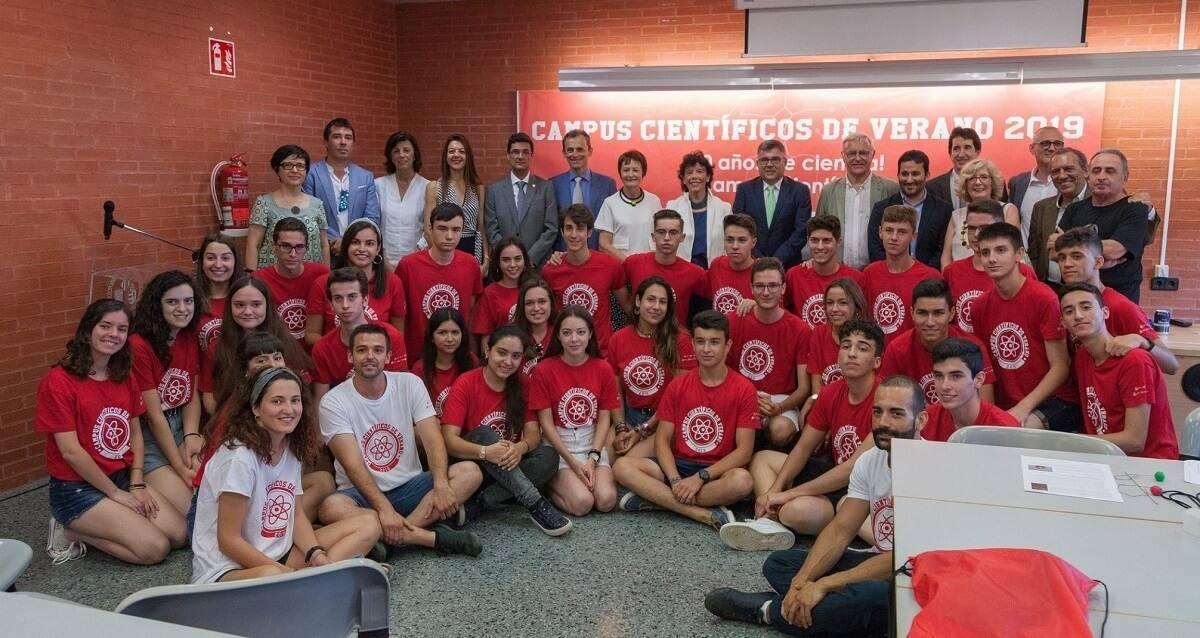 participantes campus cientificos 2019