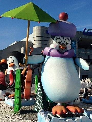 pinguinos cortylandia campo de las naciones
