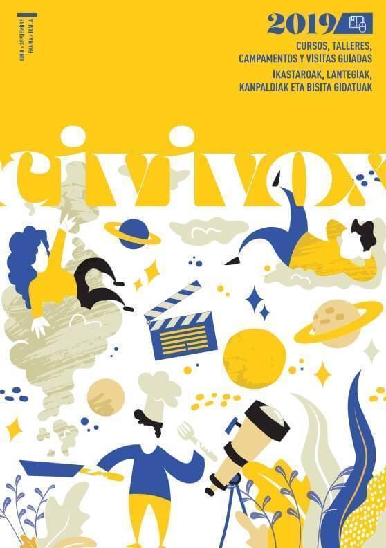 programacion verano 2019 centros civivox ayuntamiento de pamplona