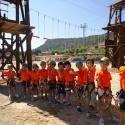 El Albergue Hervideros de Cofrentes ofrece su campamento de verano 2015 de multiaventura, náutica y naturaleza para niños y jóvenes de 10 a 14 años, d