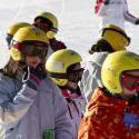 Encantaria organiza un campamento de esquí en semana santa 2017 del 8 al 13 de abril en la estación de Candanchú en el Pirineo Aragonés, con alojamien