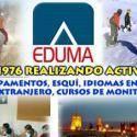 La Escuela de Ocio y Tiempo Libre Eduma, de la Agrupación Deportiva Eduma, imparte cursos de monitor y coordinador de Tiempo libre reconocidos por la