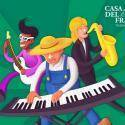 La Granja escuela Casa del Fraile organiza en verano 2015 campamentos musicales y campamentos de inglés en su complejo de ocio y turismo rural en Vill