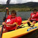 Campamento de naturaleza y aventura en verano 2015 para niños y jóvenes de 6 a 17 años que tendrá lugar en Garganta de los Montes en el Valle Alto del