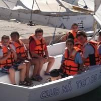 Alea Ocio Campamento náutico con inglés en Águilas