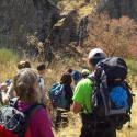 Ednya educación, naturaleza y animación organiza el campamento itinerante de verano 2017 ´Giner de los Ríos´, expedición juvenil de montaña en la Sier