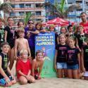 La Escuela de Tenis Playa ApPROBA oferta su campus de verano 2017 en la playa de las Canteras de Las Palmas de Gran Canaria, Islas Canarias, en turnos