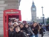 Viaje escolar a Londres…