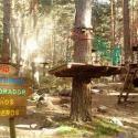 Alea Ocio ofrece en verano 2019 su campamento Summer Camp La Data de naturaleza y Montaña con inglés en la localidad de Gallegos, Segovia, para niños,