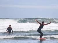 Viaje escolar de naturaleza y surf en Galicia, 5 días