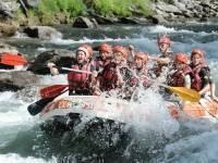Campamento familiar para padres e hijos en Pirineos