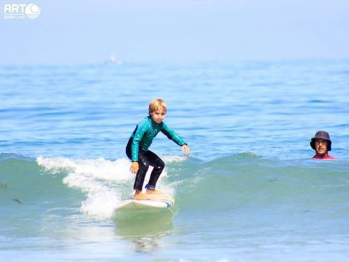? ☀️campamentos de surf de art surf camp