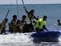 Club Campamentos.info ofrece un viaje de fin de curso a la playa de Oliva (Valencia) en los meses de abril, mayo y junio, con todo incluido: alojamien