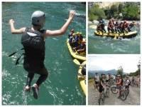 Campamento superaventura en el Valle de Hecho
